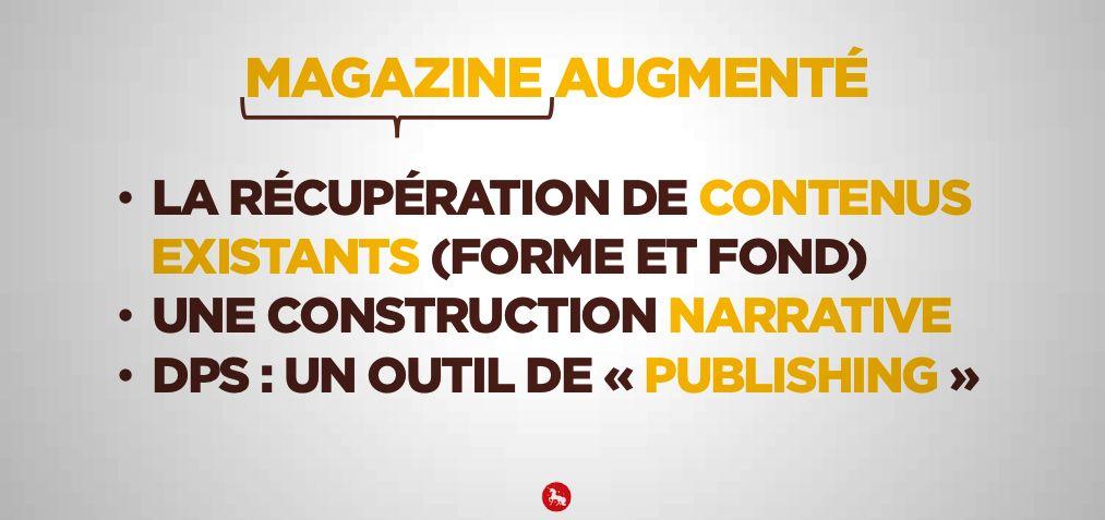 """Magazine augmenté Renault - dimension """"magazine"""""""