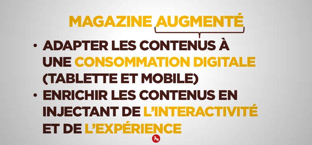 """Magazine augmenté Renault - Dimension """"augmenté"""""""
