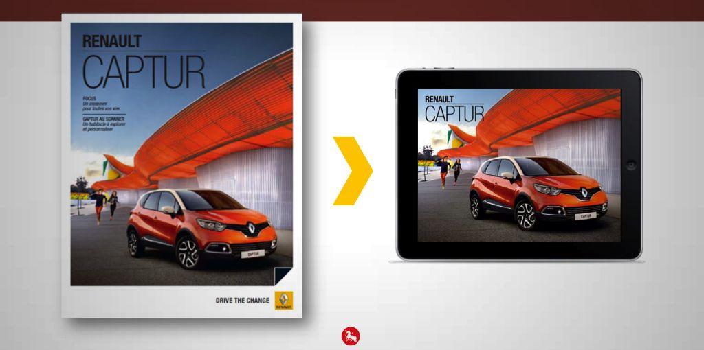 Magazines augmentés Renault