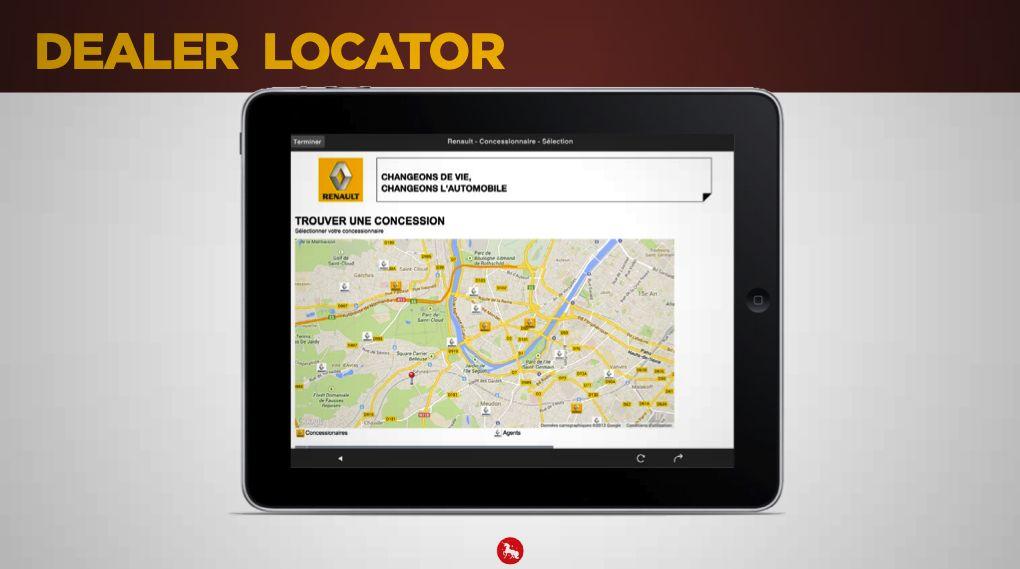 Store locator - Magazine augmenté Koléos