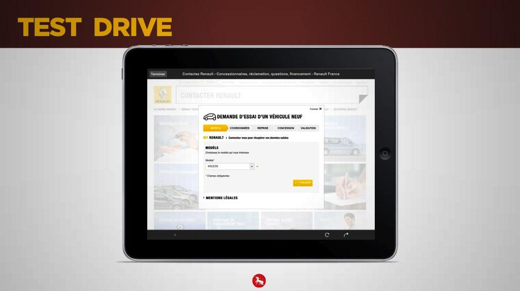 Test drive - Magazine augmenté Koléos