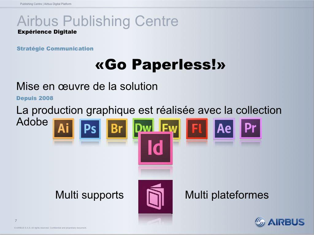 Airbus - Solutions Adobe utilisées