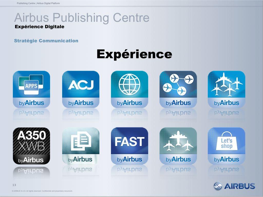 Airbus Publishig Centre - Expérience digitale