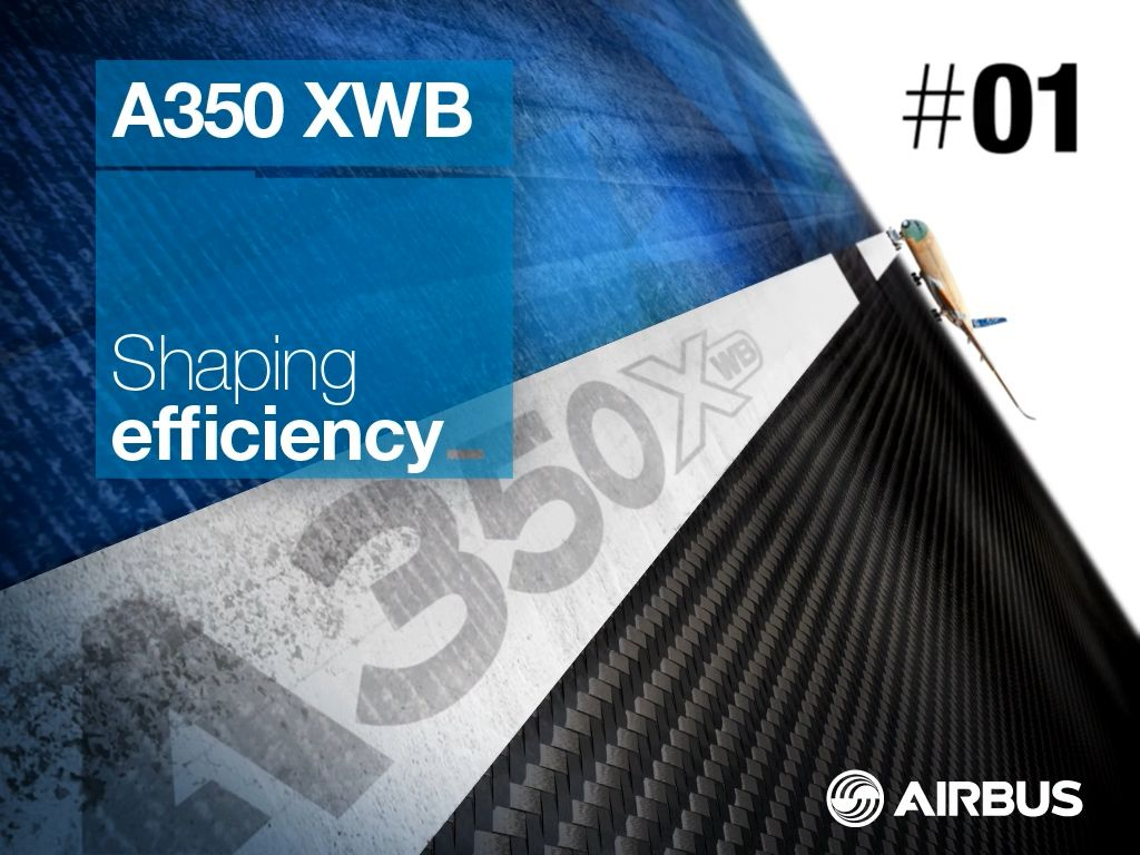 Airbus magazine A350 - iPad