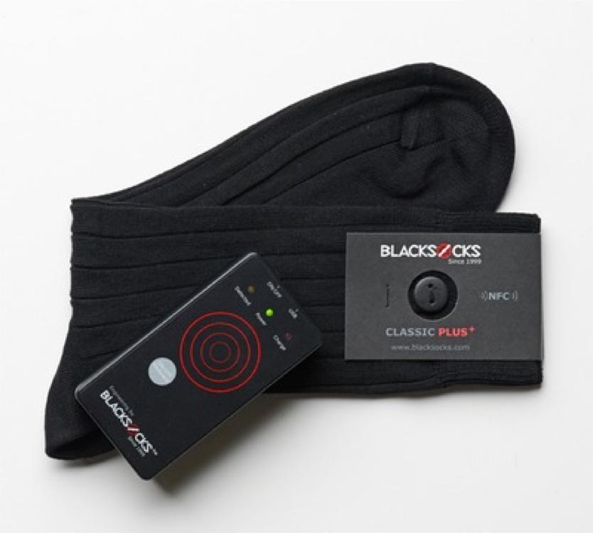 Smarter socks by Blacksocks