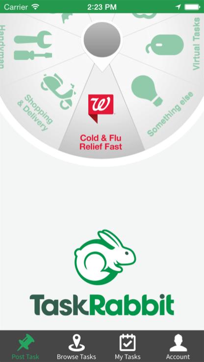 Walgreen and Task Rabbit