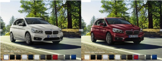 BMW color change