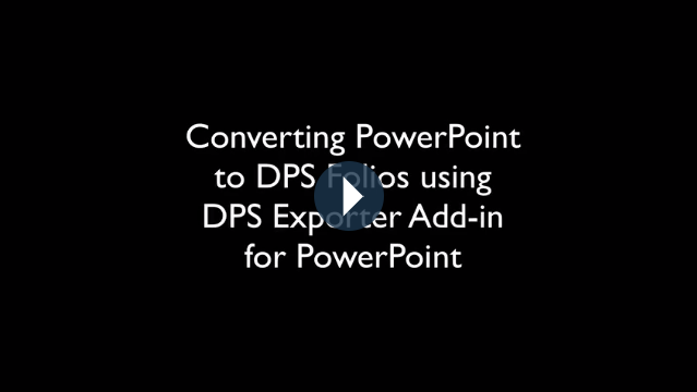DPS Export for Powerpoint