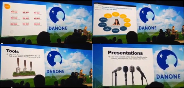 Danone DPS Internal Learning app