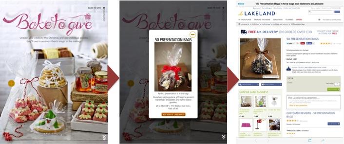 Lakeland buy in-app