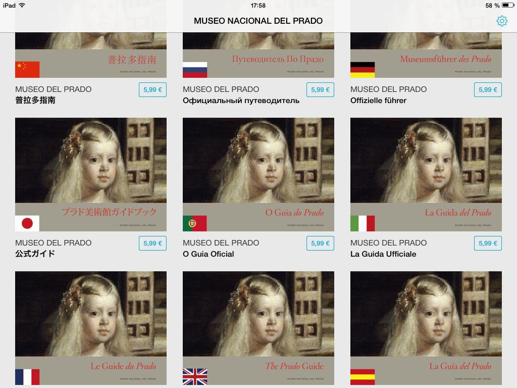 Prado app 9 languages