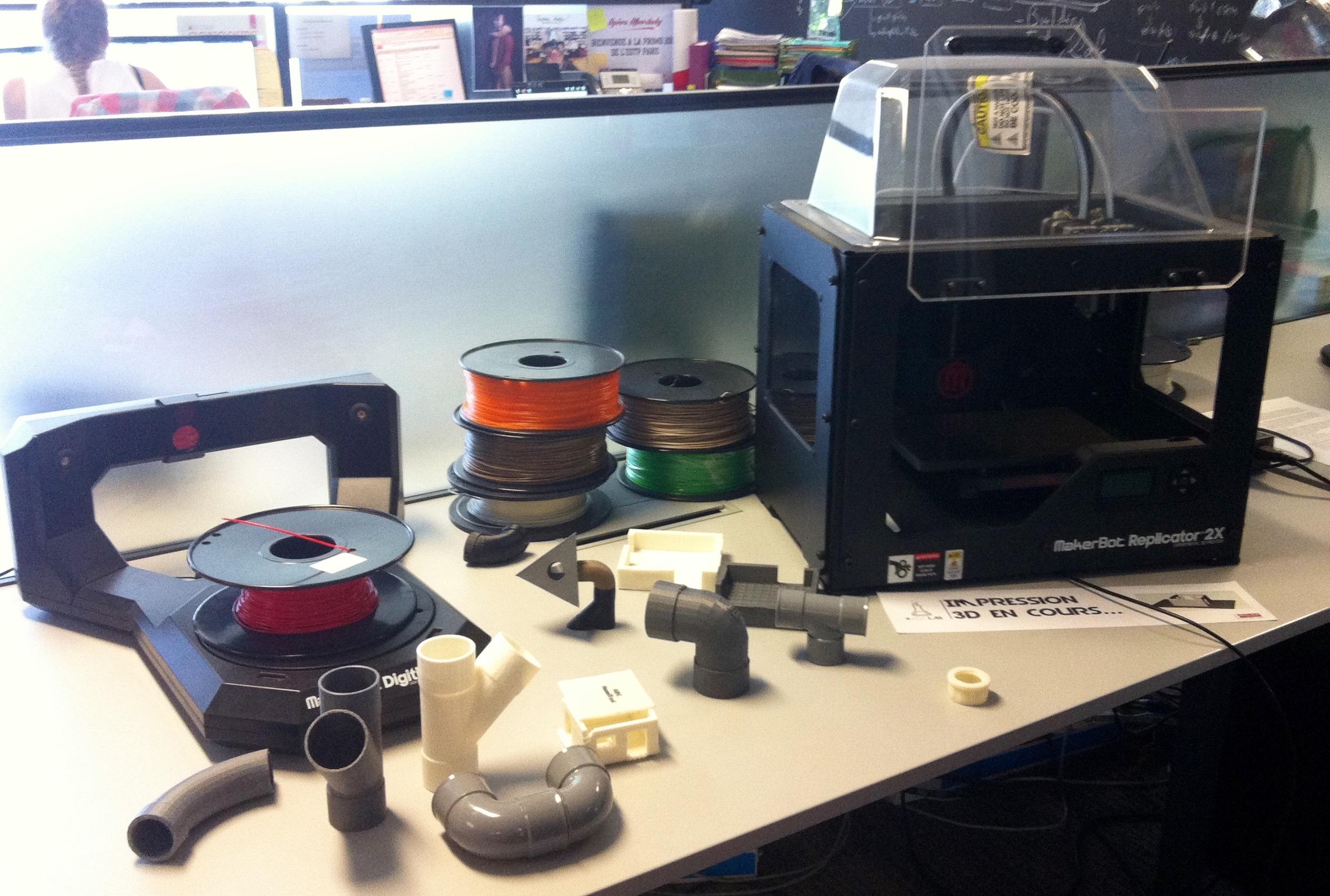 Imprimante 3D plomberie