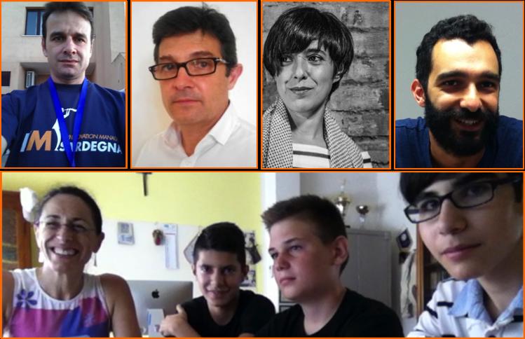 Nicola Pirina, Roberto Spano, Monica Mureddu, Nicola Siza, Alessandra Patti, Fabio Altea, Marco Pittalis, Davide Ricco