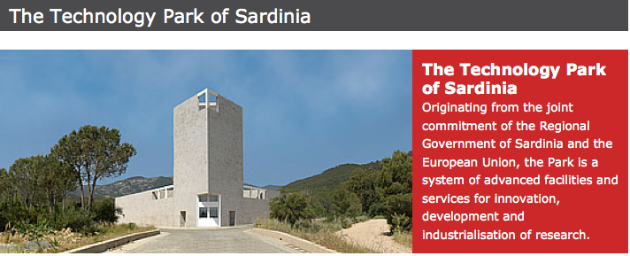 Technology parks Sardinia