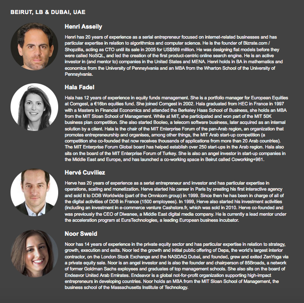 Leap Ventures team