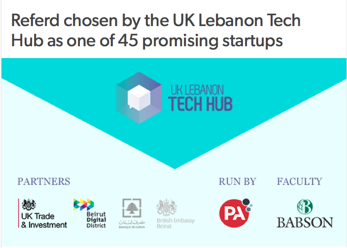 Referd UK Lebanon Tech Hub
