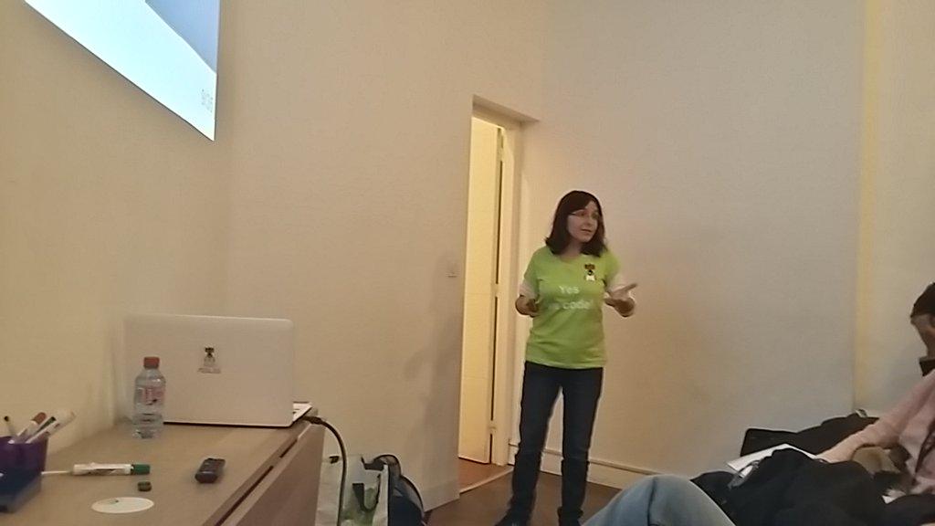 Aurélie Vaché en conférence technique