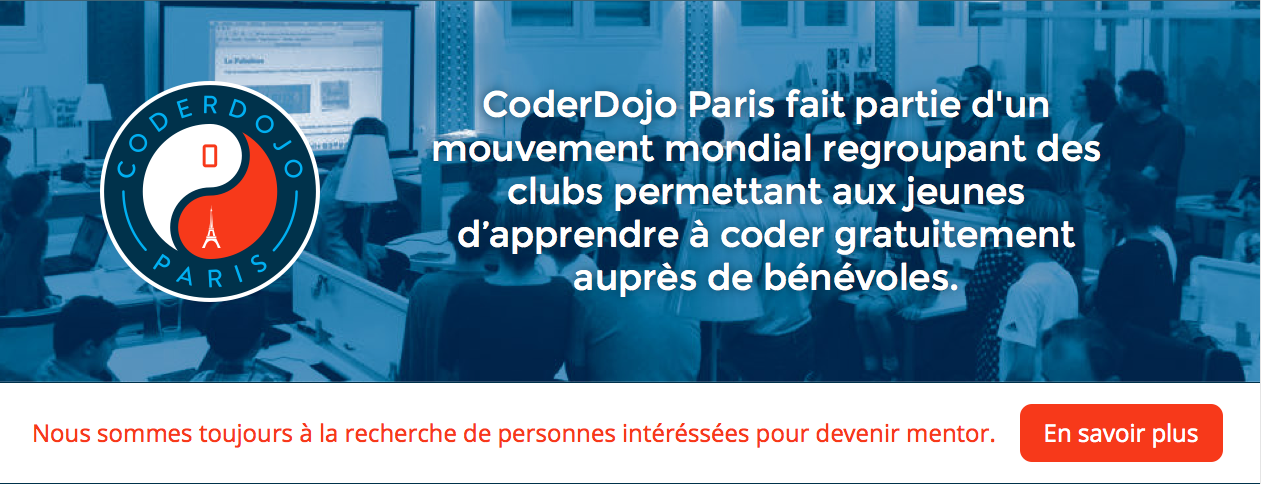 Coder Dojo Paris
