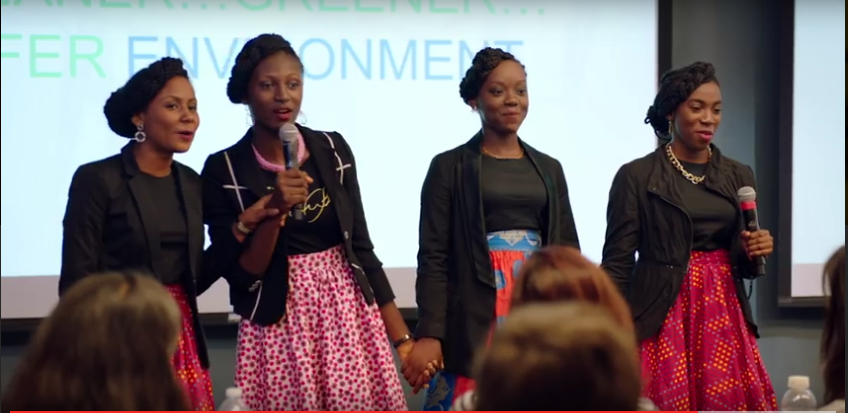 Winning Nigerian Team - Code Girl by Technovation