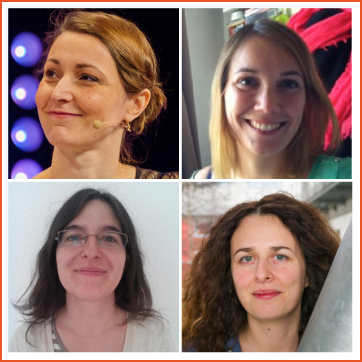 Stéphanie Hertrich, Ludwine Probst, Aurélie Vaché, Agnès Crépet