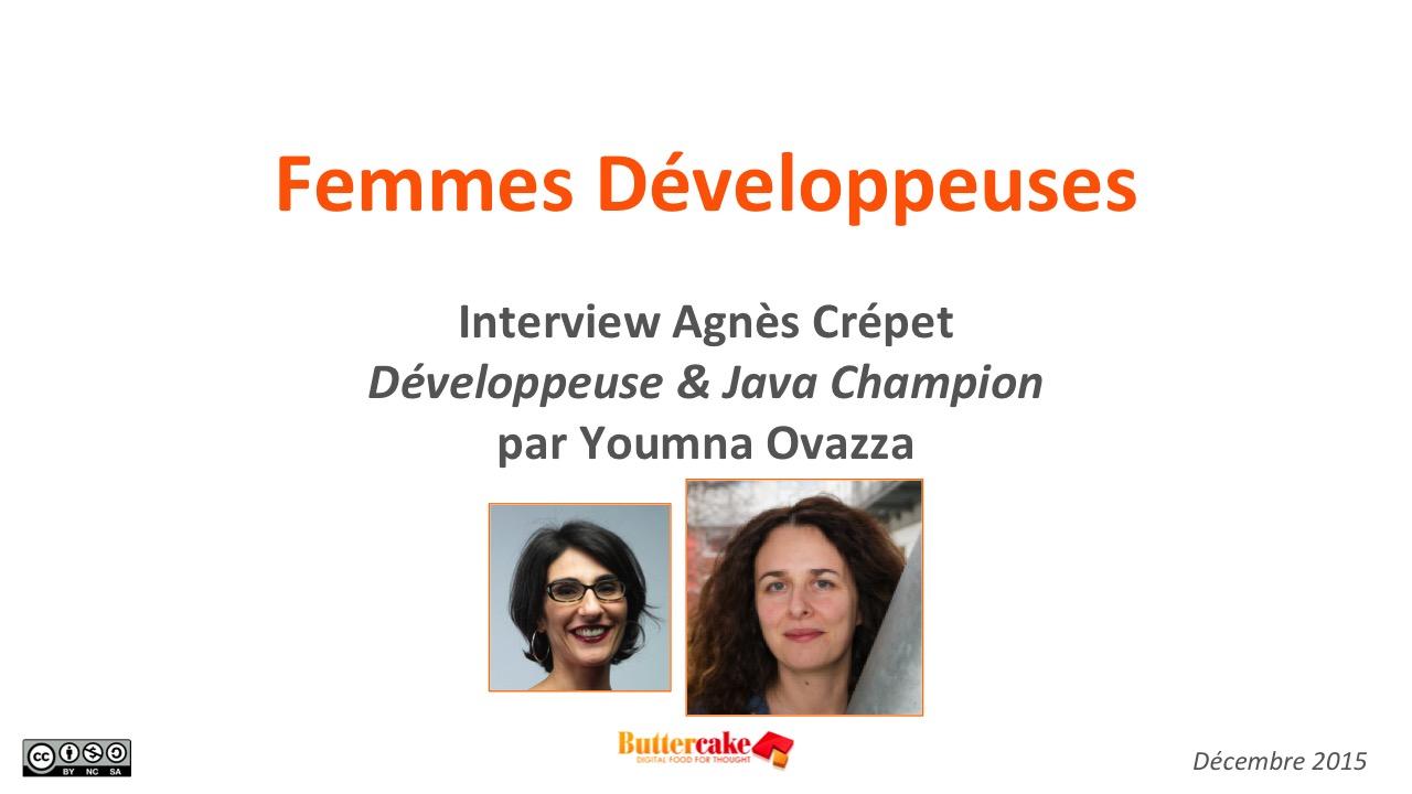 Interview Agnès Crépet, développeuse et Java Champion