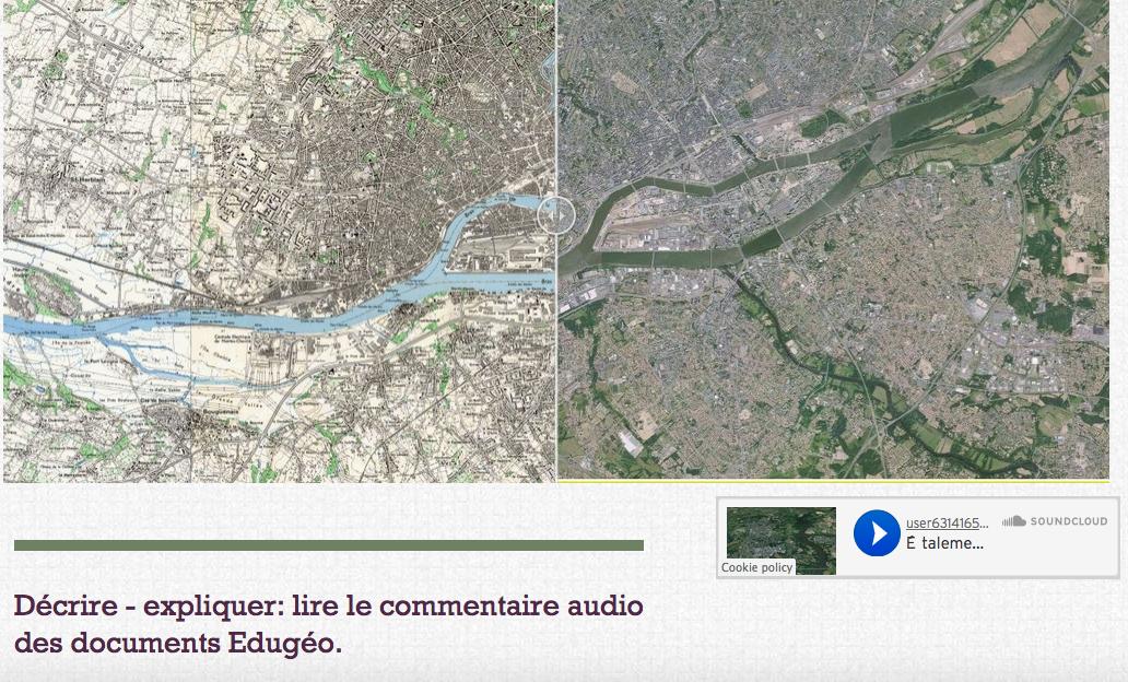 Commentaires audio: Classe inversée Géographie 3è de Sami Chérif
