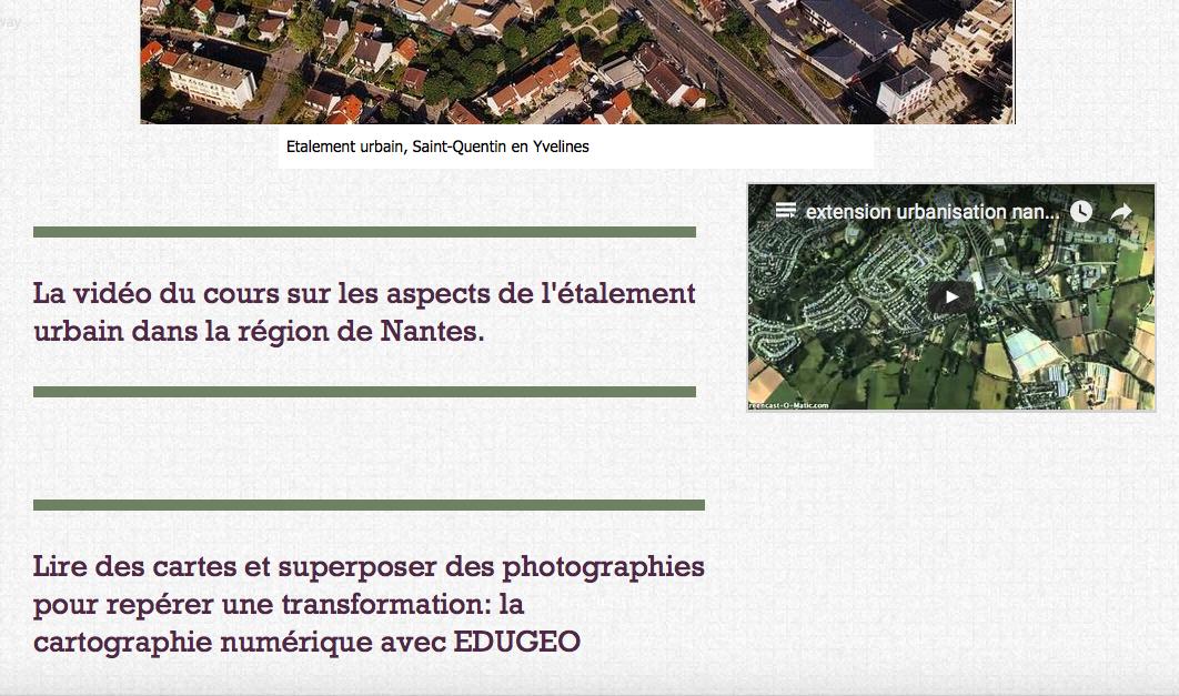 Vidéo du cours: Classe inversée Géographie 3è de Sami Chérif