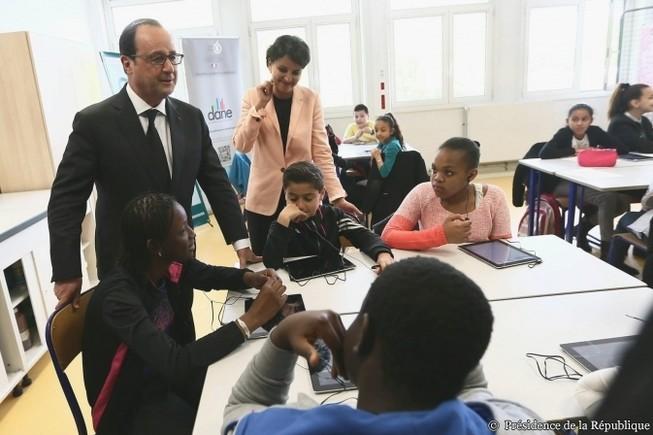 François Hollande : 1 milliard d'euros sur 3 ans pour le numérique à l'école