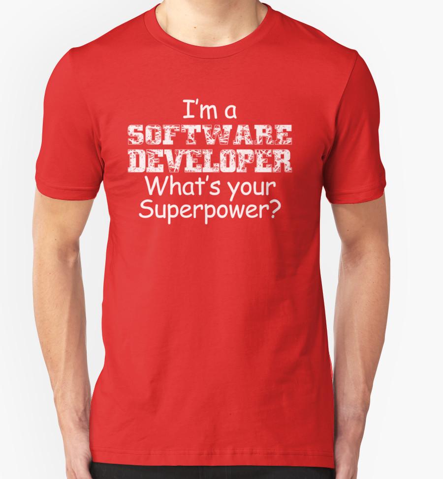 Superpower tshirt