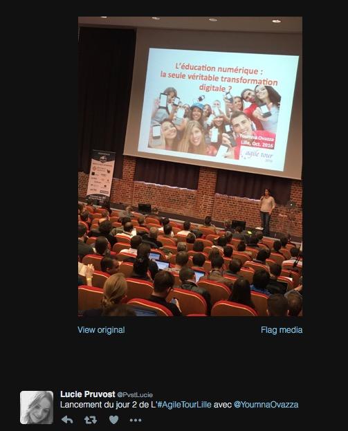Keynote Youmna Ovazza Agile Tour Lille 2016