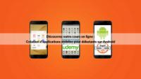 Cours en ligne Youmna Ovazza sur Udemy Android débutants